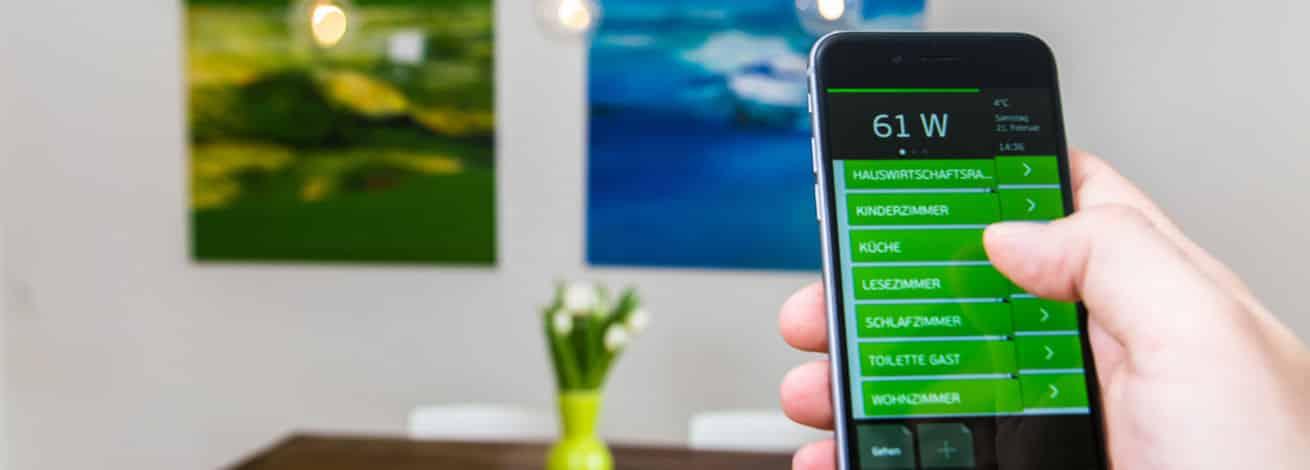 digitalstrom smarthome smartphone app