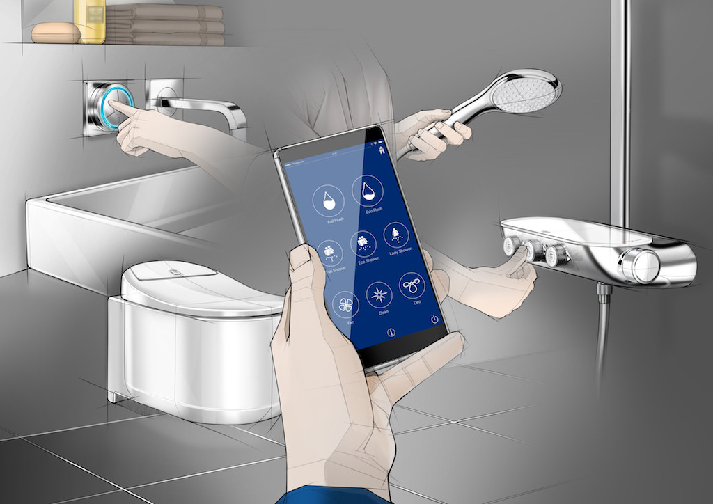grohe smart wc